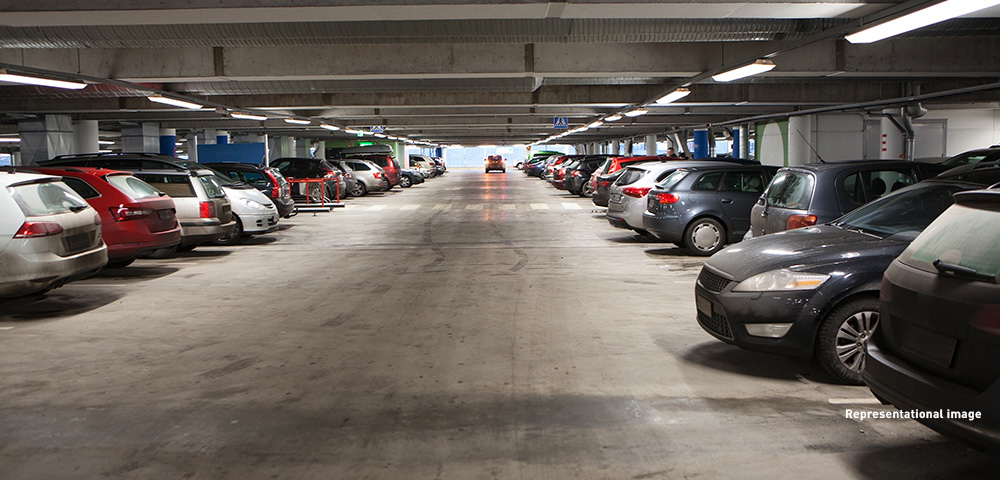 Ample space for car parking