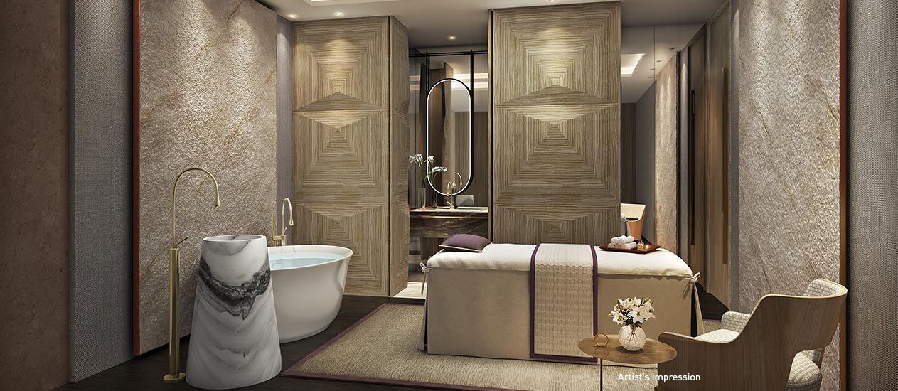 Spa treatment room image