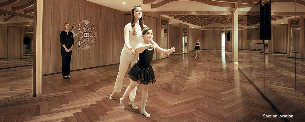 Try everything from ballet to aerial yoga