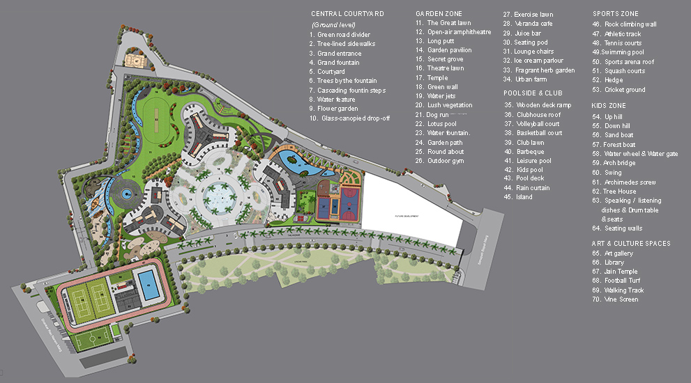 World Crest - Floor Plans & Property Prices for 3 BHK & 4 BHK Homes
