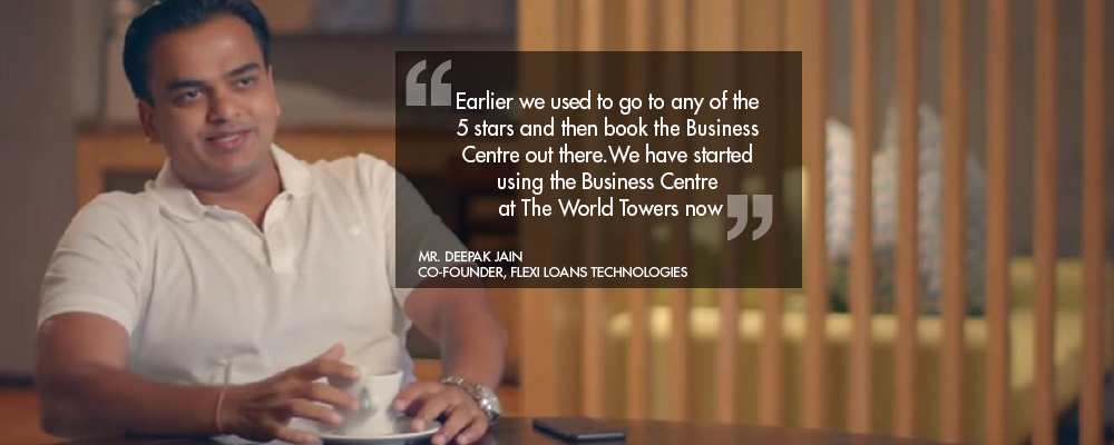 Residents share their views on #TheWorldTowersLife