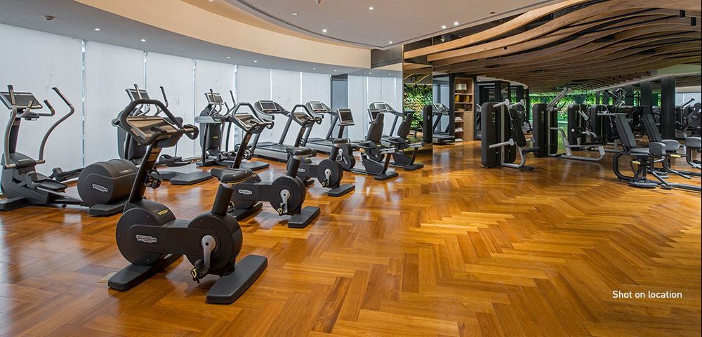 World-class fitness centre managed by Six Senses