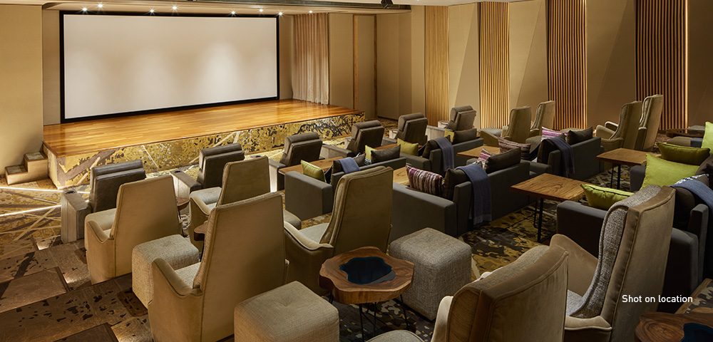 40-seat private theatre fit for a Hollywood mogul
